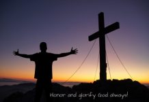 Honor and Glorify God